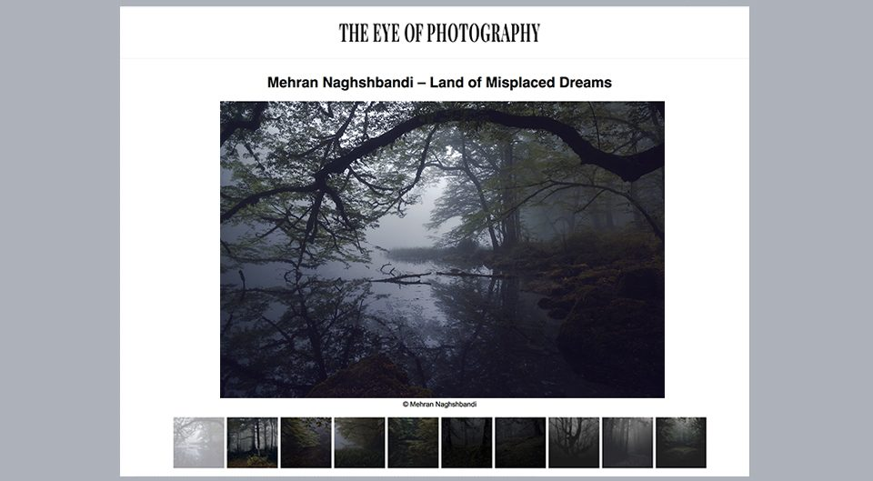 Mehran Naghshbandi FEATURED IN L'OEIL DE LA PHOTOGRAPHIE