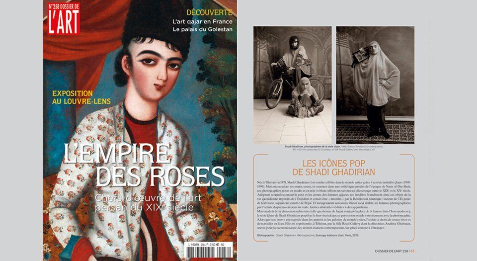 LES ICÔNES POP DE SHADI GHADIRIAN in Dossier de l'Art