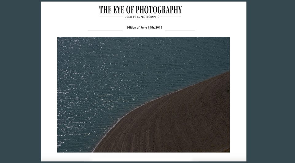 Shahin Esfandiari Featured in L'OEIL DE LA PHOTOGRAPHIE